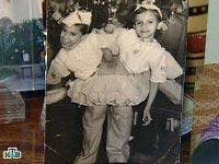 Маша и Даша Кривошляповы в раннем детстве, кадр телеканала НТВ
