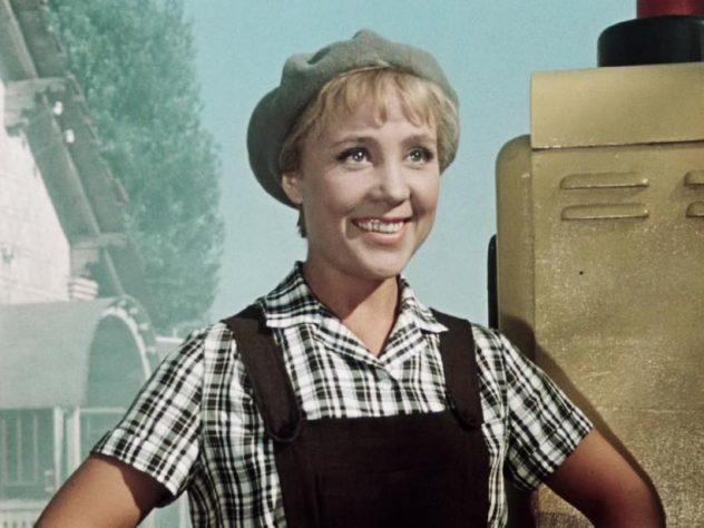 «Королева бензоколонки», 1962 год Кадр из фильма