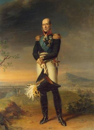 Картина Д. Доу «Михаил Барклай де Толли»