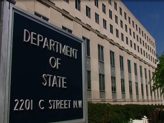 Госдеп несчитает ситуацию спарковкой около посольств США ответным шагомРФ