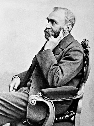 Альфред Нобель. wikimedia