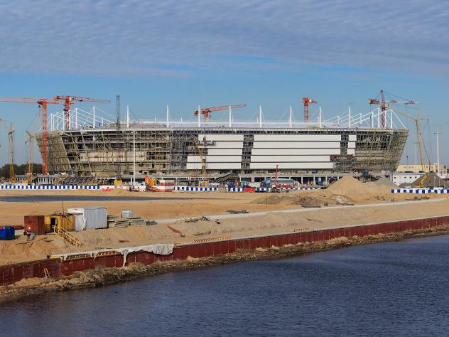 Стадион в екатеринбурге к чм 2019 года