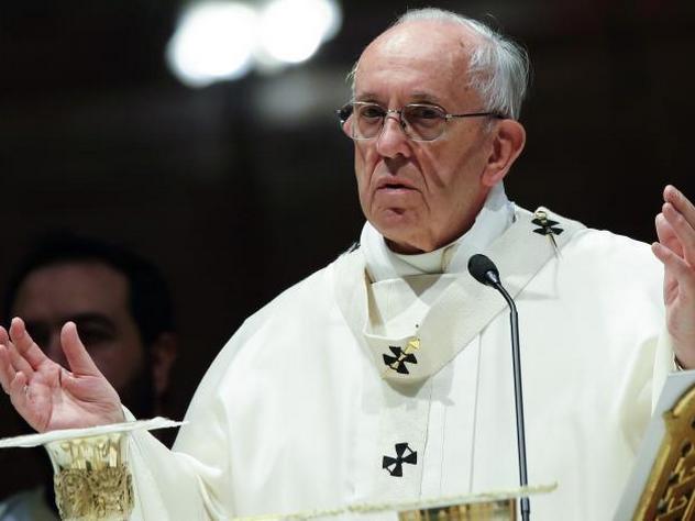 Папа римский отыскал  дьявола навостоке Украинского государства