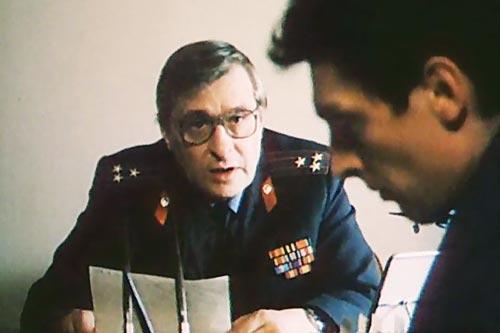 В «Противостоянии» полковника Костенко сыграл Олег Басилашвили. Кадр из фильма