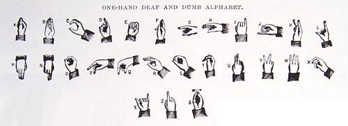 Алфавит глухонемых. wikimedia