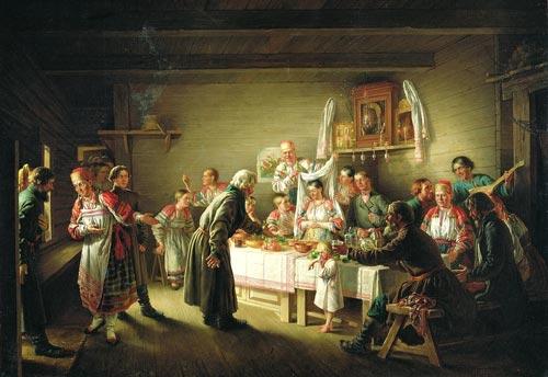 Н. Петров. «Смотрины невесты»