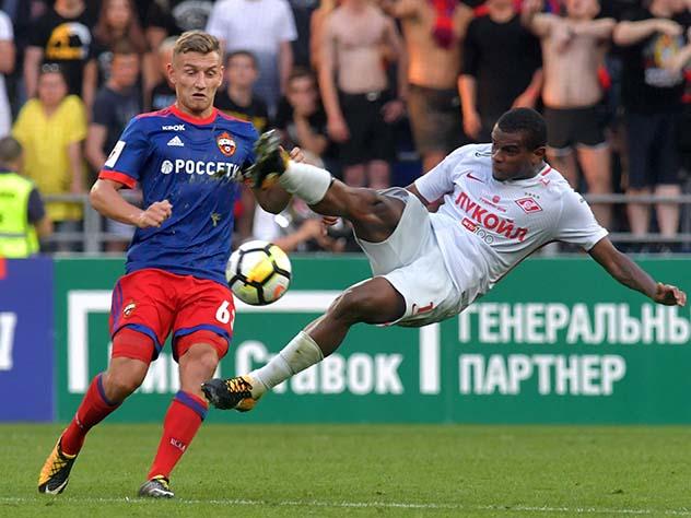 ЦСКА объявил стартовый состав наматч со«Спартаком»