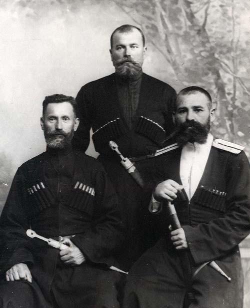 Кубанские казаки, члены Первой государственной думы, 1906 год. Фото: wikimedia.org