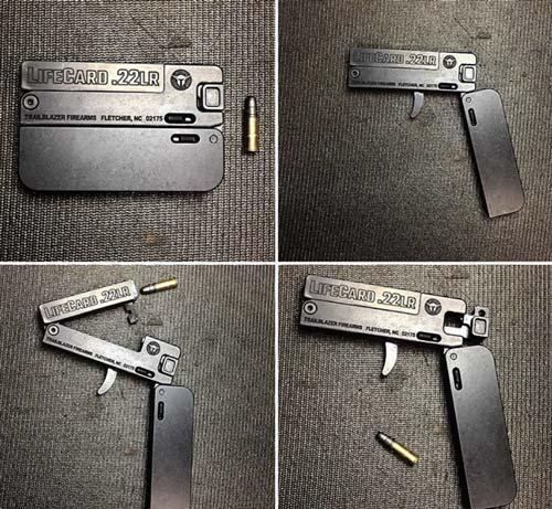 """Пистолет LifeCard в сложенном и боевом положениях. Фото:<a href="""" https://www.instagram.com/p/BbPqTczncPl/"""" target=""""_blank"""">  Instagram</a>"""