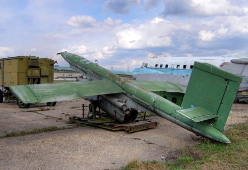 Беспилотный самолет-мишень Ла-17 на Ходынском поле в Москве. Фото: wikipedia.org