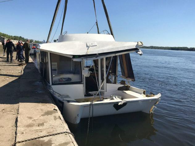 Капитан затонувшего в Волгограде катамарана мог взойти на борт трезвым