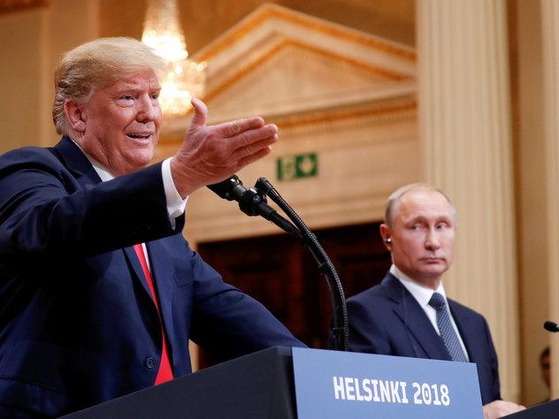 В Пентагоне поддержали идею Трампа пригласить Путина