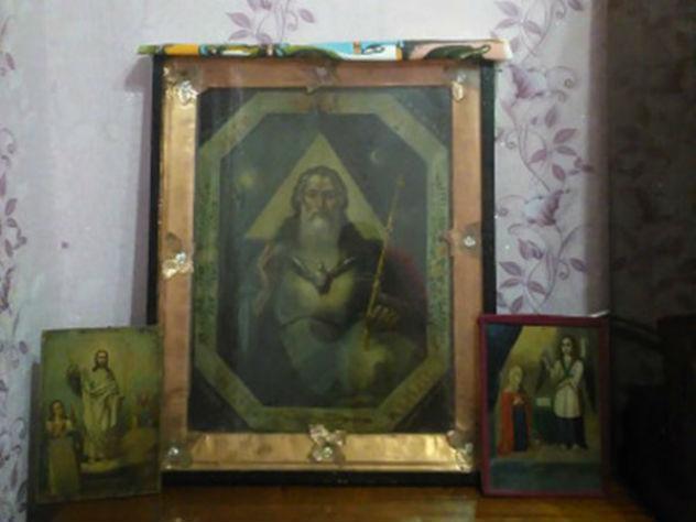 В Ростове продают икону Господа Саваофа
