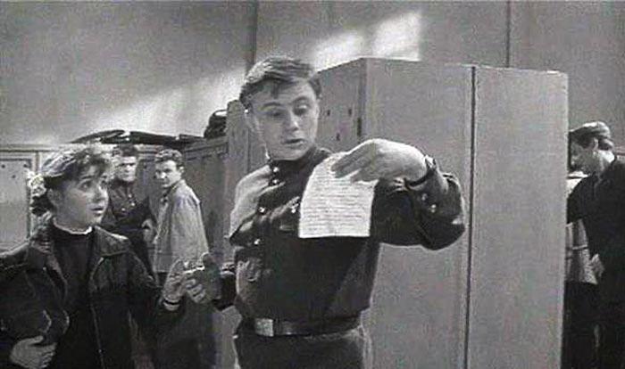 Кадр из фильма «А если это любовь?», 1961 г.