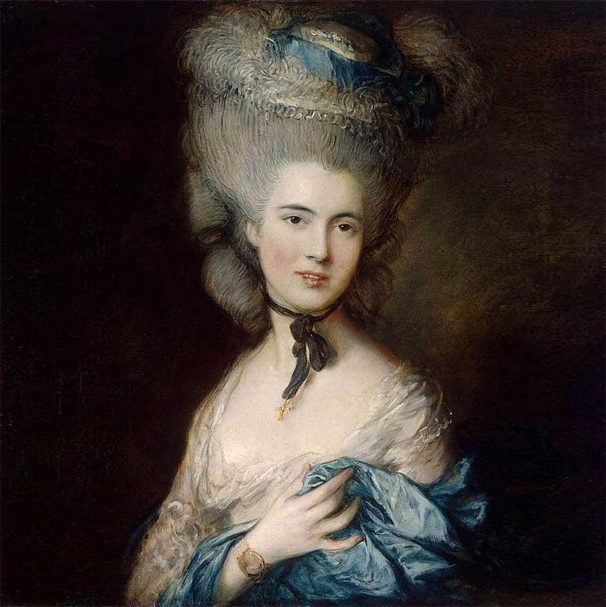 Т. Гейнсборо. «Дама в голубом»