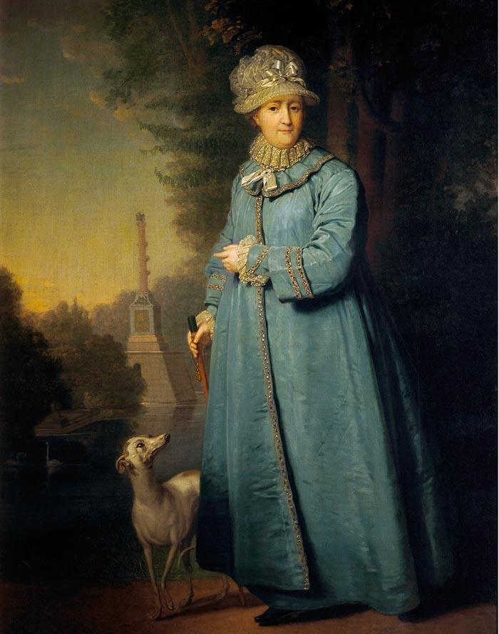 Бабушка Александра I, самодержца Российского, Екатерина Великая. Источник: wikimedia