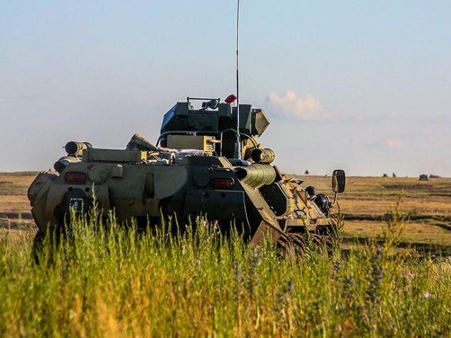 В Керчь прибыла армия
