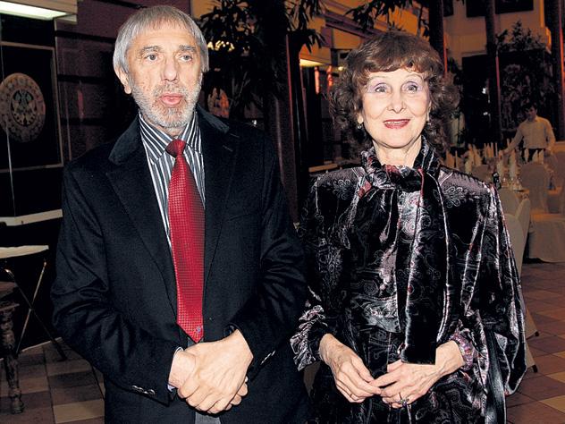 С женой Изольдой Алексеевной
