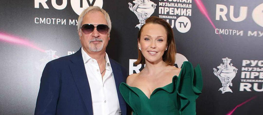 Валерий Меладзе и Альбина Джанабаева.
