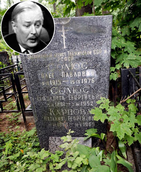 «Пузика» похоронили с мамой и её сестрой на Пятницком кладбище (уч. 7)