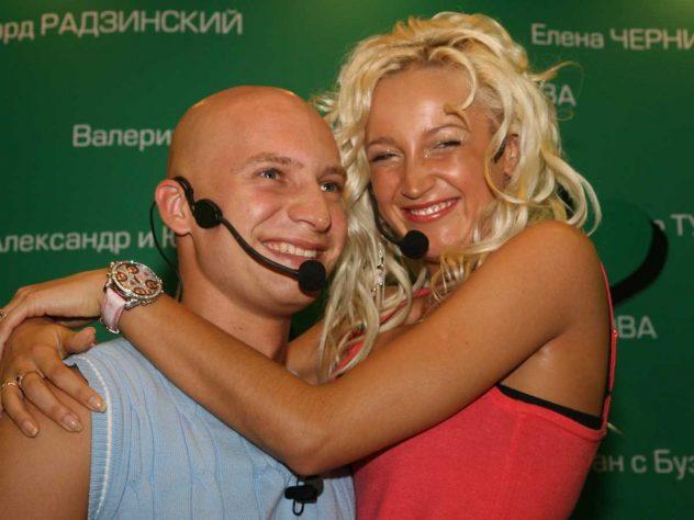 Роман Третьяков и Ольга Бузова