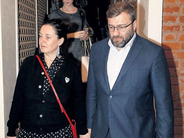 Михаил Пореченков с женой