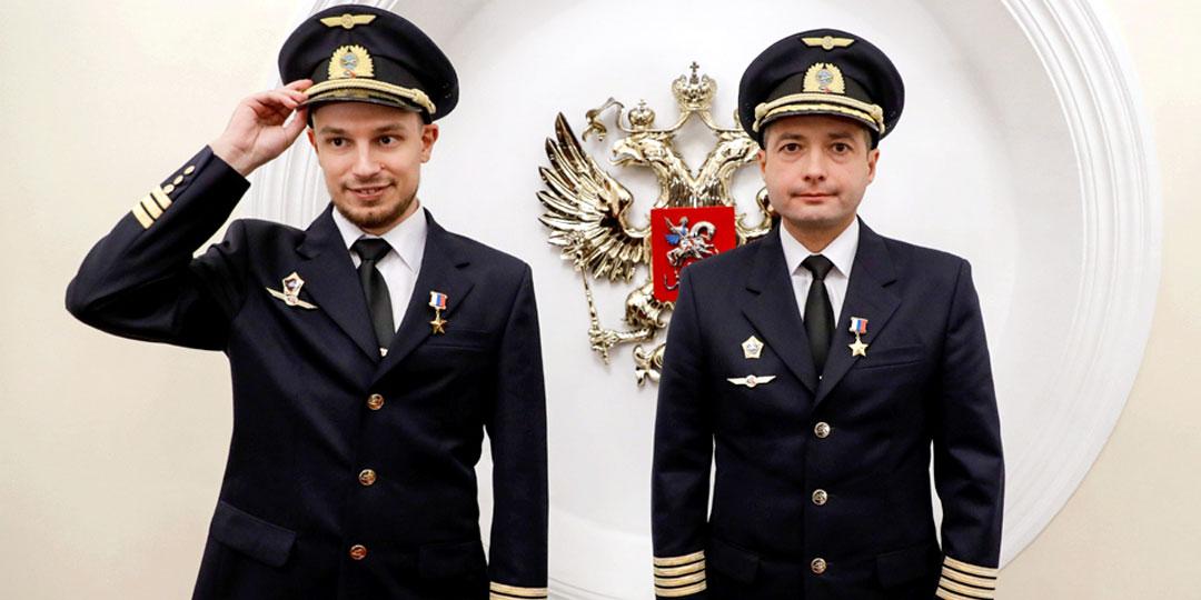 Дамир Юсупов (справа) и Георгий Мурзин. Фото МВД по РМ