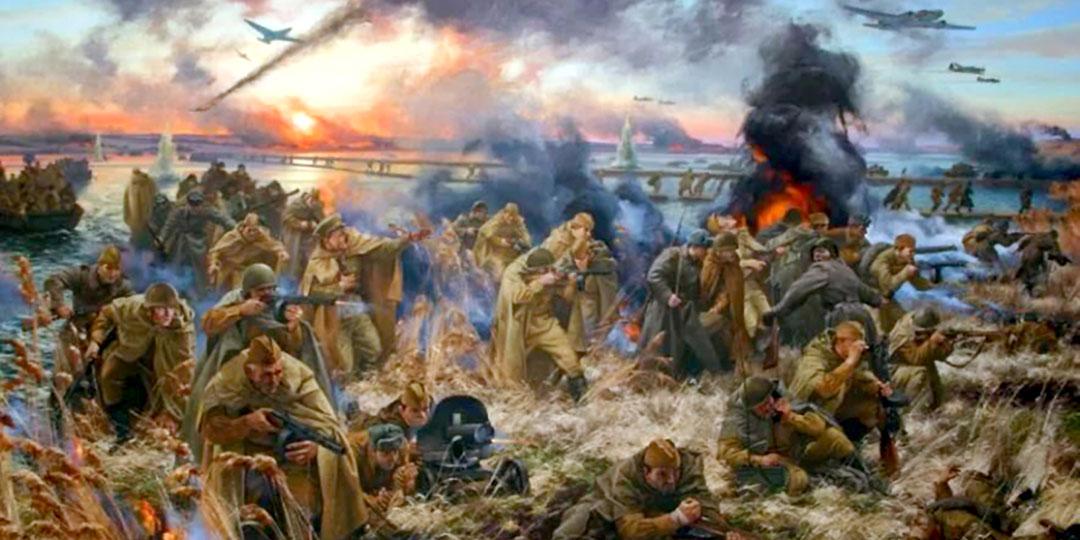 Рекордное награждение: после битвы за Днепр звание Героя Советского Союза было присвоено 2438 воинам