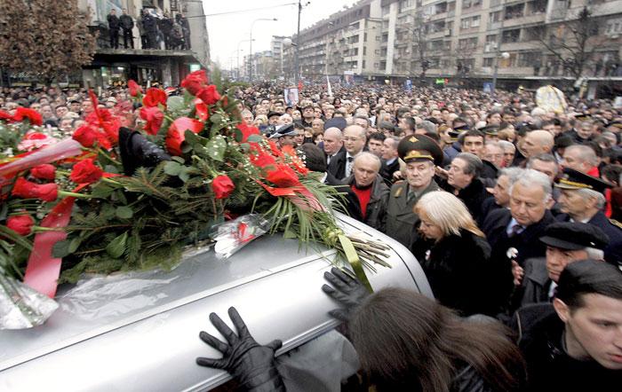 Слободана Милошевича хоронили под мелодию песни «Подмосковные вечера»
