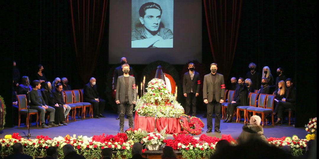 Прощание и похороны Армена Джигарханяна