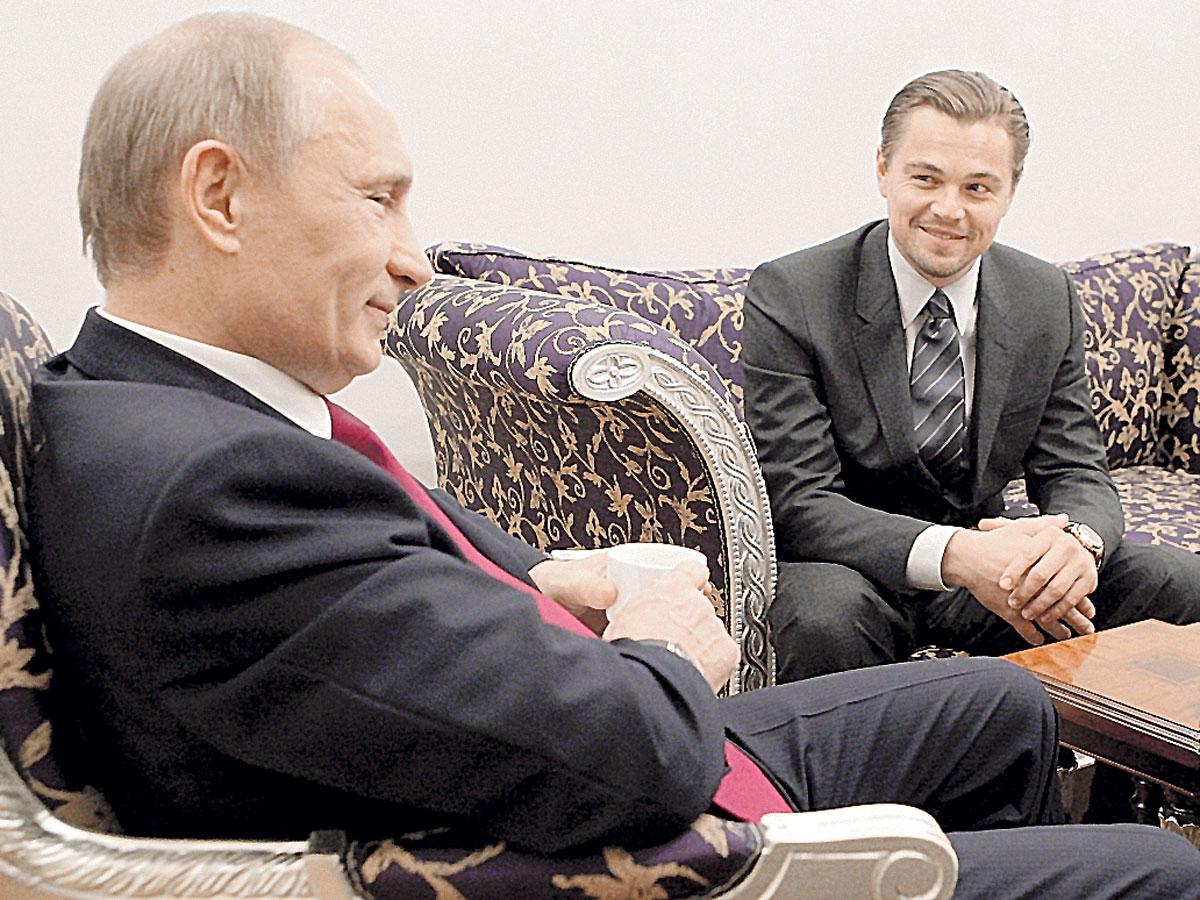 Леонардо ДиКаприо помогает России