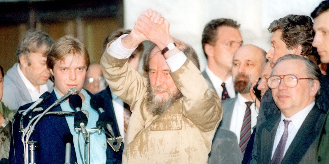 Александра Солженицына принимали в России как пророка, а он натравливал Запад на свою родину