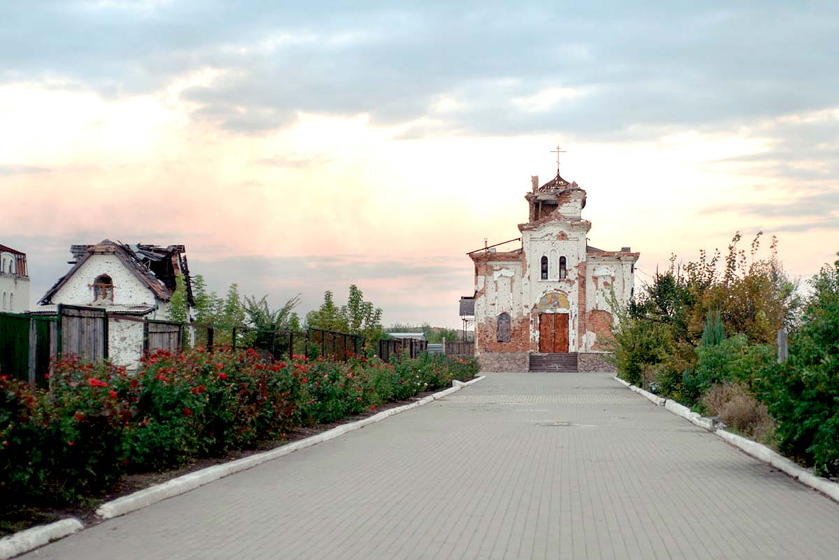 Свято-Иверский женский монастырь был разрушен